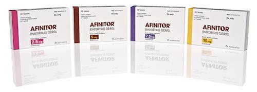 Афинитор Эверолимус Afinitor Everolimus - отзывы, цена и где купить