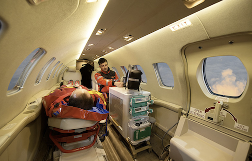 Санитарная авиация и авиаперевозка пациентов на лечение за рубежом
