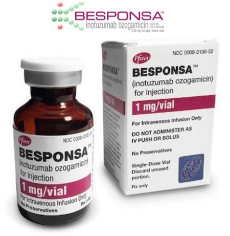 Купить Беспонса, продам Беспонза, цена Besponsa купить Инотузумаб, отзывы Inotuzumab, инструкция Озогамицин