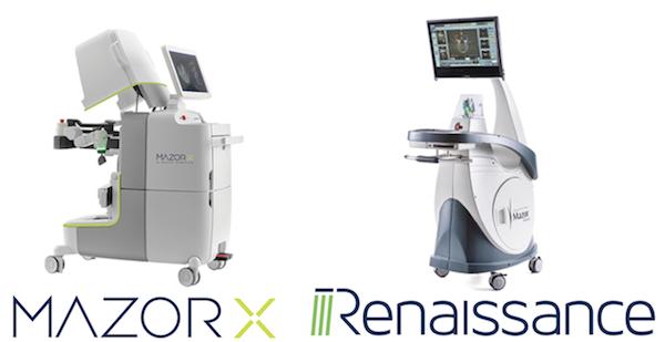 Хирургические роботы Mazor X и Renaissance. Спинальные операции на позвоночнике