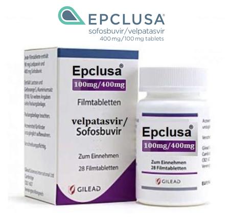 Продам Эпклуса, Эпклуса купить, Epclusa цена - Велпатасвир (Velpatasvir) и Софосбувир