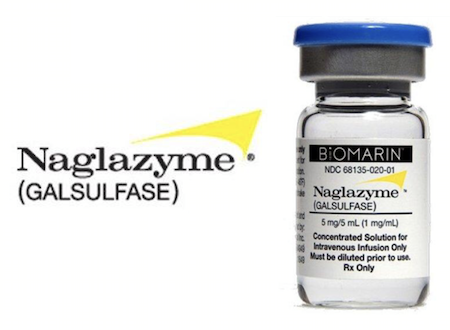 Купить Наглазим, продам Naglazyme, цена Галсульфаза, Galsulfase для лечения синдрома Марото-Лами: отзывы, инструкция