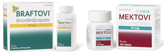 Лечение меланомы по протоколу Braftovi (Энкорафениб) + Mektovi (Биниметиниб)