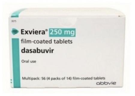 Купить Эксвиера, продам Дасабувир, цена Exviera, купить Dasabuvir