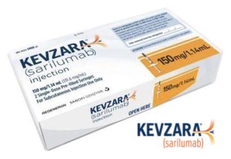 Купить Кевзара, продам Сарилумаб, цена Kevzara, купить Sarilumab