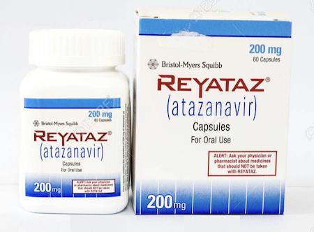 Купить Реатаз, продам Атазанавир, цена Reyataz, купить Atazanavir