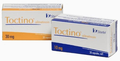 Купить Токтино, продам Алитретиноин, цена Toctino, купить Alitretinoin