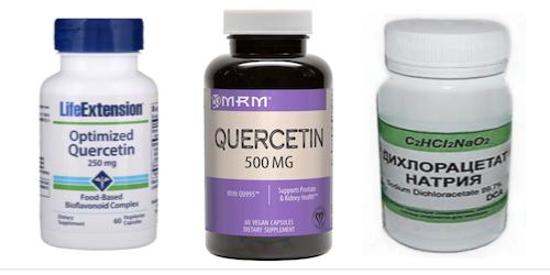 Противоопухолевый эффект Дихлорацетата и Кверцетина. Отзывы