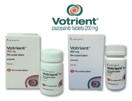 Купить Вотриент, продам Пазопаниб, цена Votrient, купить Pazopanib