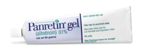 Купить Панретин гель, продам Алитретиноин, цена Panretin, купить Alitretinoin