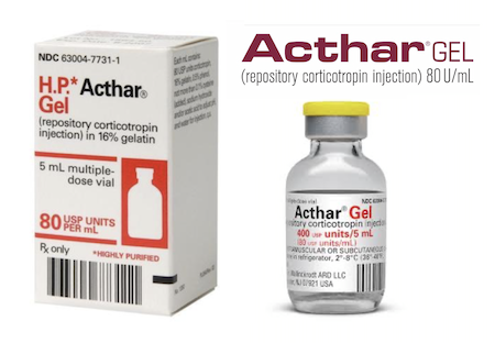 Купить Актар Гель, продам Кортикотропин, цена Acthar Gel, купить Corticotropin