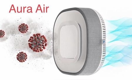 Cистема антивирусной фильтрации воздуха, дезинфекция воздуха, стерилизация воздуха Aura Air, система очистки воздуха от коронавируса Aura Air