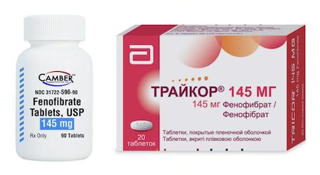 Как Фенофибрат (Tricor) лечит коронавирус COVID-19