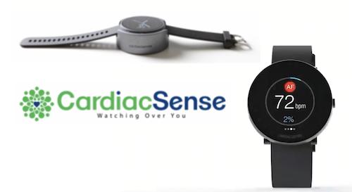 Медицинские часы CardiacSense отслеживают жизненно важные функции организма