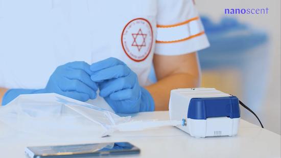 Тестирование коронавируса и тесты на ковид 19 за 30 секунд по методу NanoScent