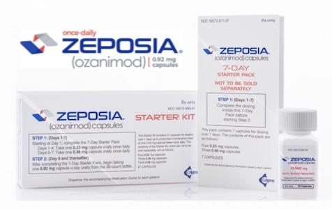 Купить Зепосиа, продам Озанимод, цена Zeposia, купить Ozanimod