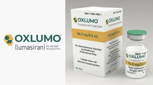Купить Окслумо, продам Люмасиран, цена Oxlumo Lumasiran для лечения первичной гипероксалурии 1 типа: