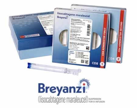 Купить Брейанзи, продам Бреянзи (лизокабтаген маралейсел), цена Breyanzi